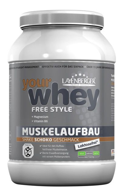 your whey Free Style - 750g - Vanille