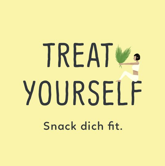 Zur Kategorie Treat yourself - Snack dich fit