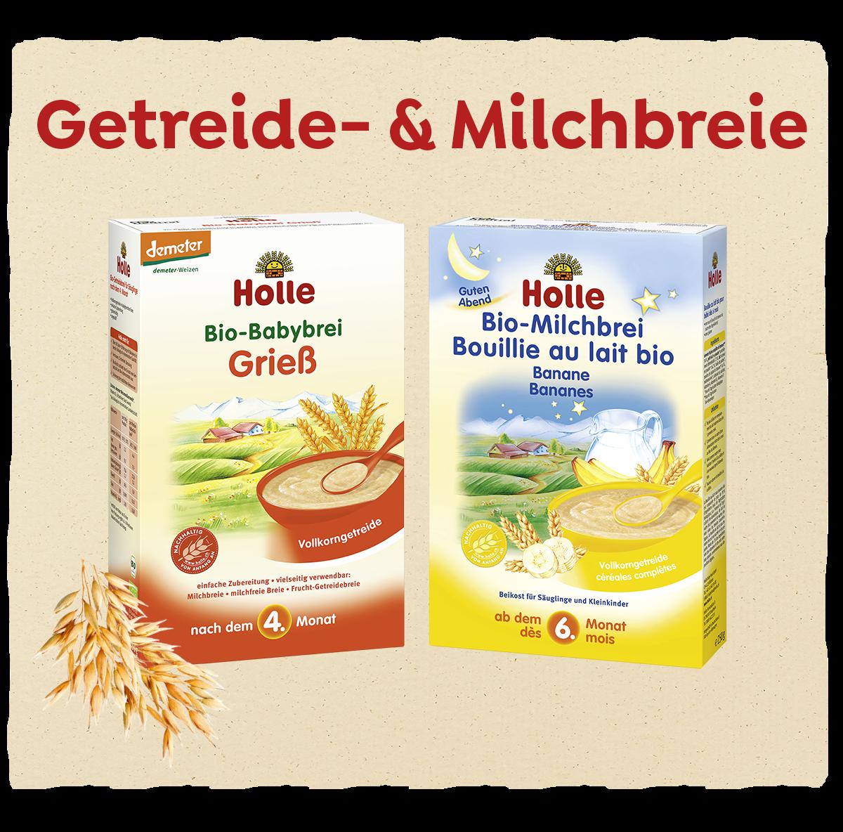 Zur Kategorie Getreide & Milchbreie