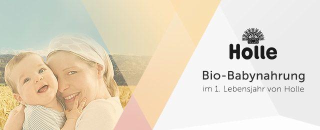 Bio-Babynahrung von Holle