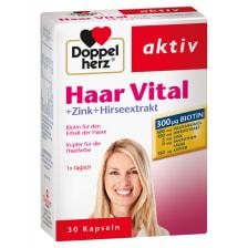 双心头发活力胶囊+锌+小米精华 30粒  Haar Vital + Zink + Hirseextrakt (30 Tabletten)