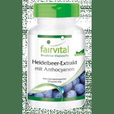 Heidelbeer-Extrakt mit Anthocyanen (90 Kapseln)