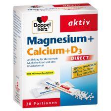 双心镁钙+D3营养微颗粒 20袋 Magnesium + Calcium + D3 Direct (20 Portionen)