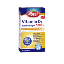 Vitamin D3 Forte Wochendepot (12 Tabletten)