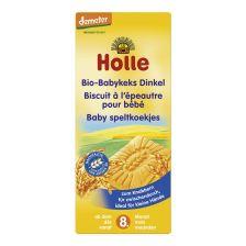鸿乐有机儿童斯比尔托小麦饼干 8个月起 150g  Bio-Babykeks Dinkel, ab dem 8. Monat (150g)