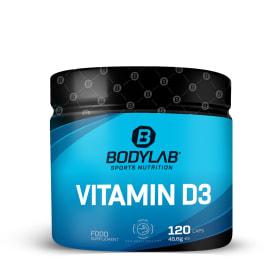 Vitamine D3 (120 capsules)