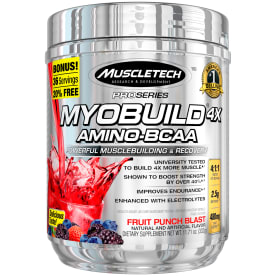 Pro Series Myobuild 4x Fruit Punch Blast (324g)
