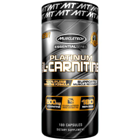 Essential Series Platinum 100% L-Carnitine (180 Kapseln)