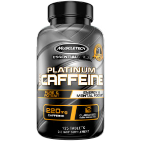 Essential Series Platinum 100% Caffeine (125 Tabletten)