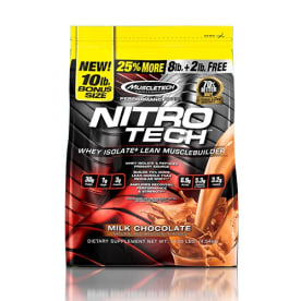 Performance Series Nitro-Tech Milk Chocolate (4536g)