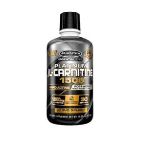 Essential Series Platinum 100 % L-Carnitine 1500 Citrus Splash (550ml)