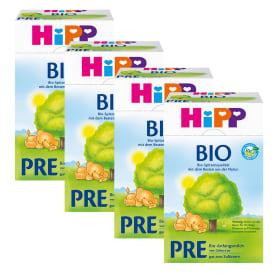 喜宝有机婴儿配方奶粉pre段600克, 4盒装 4 x Bio PRE Anfangsmilch (4x600g)