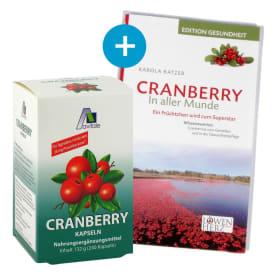 Cranberry 36mg Proanthocyane (240 Kapseln) + Cranberry Buch - Gratiszugabe