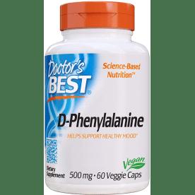 D-fenylalanine 500 mg (60 capsules)