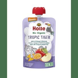 Demeter Tropic Tiger - Pouchy Apfel mit Mango & Maracuja, ab dem 8. Monat (100g)