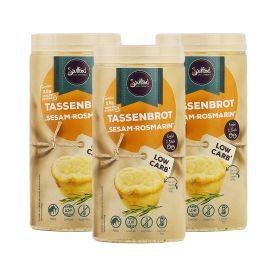 3 x Tassenbrot Sesam-Rosmarin (3x90g)