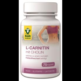 L-Carnitin mit Cholin (75 Kapseln)