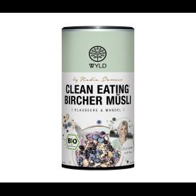 "Clean Eating Bircher Blaubeere & Mandel ""by Nadia Damaso"" (350g)"