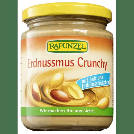 Crunchy peanutbutter with salt bio (250g)