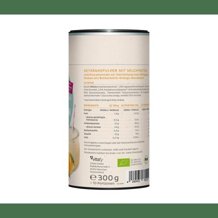 Bio Protein Shake Buttermilk Orange (300g)