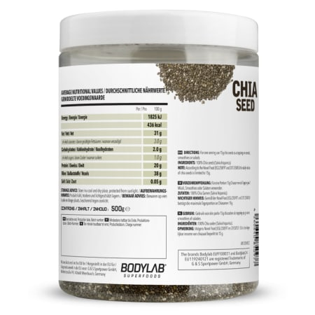 Chia Seed Pure - 100% Natural (500g)