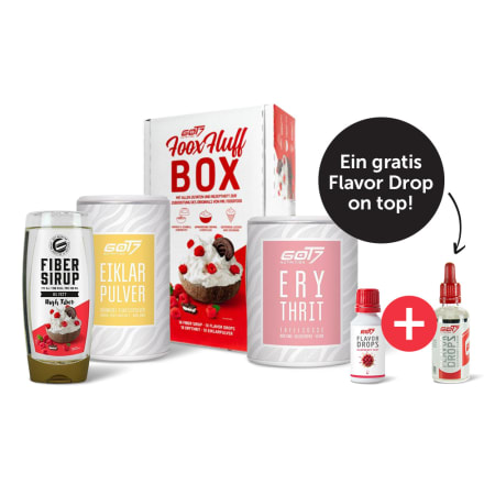 GOT7 FooxFluff Box + Flavor Drops (50 ml) GRATIS!