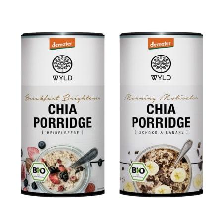2 x Demeter Low Carb* Müsli / Chia Porridge (2x350g)