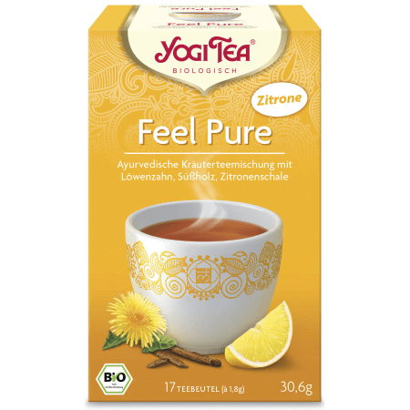 Yogi Tee Detox mit Zitrone bio (17 Beutel)