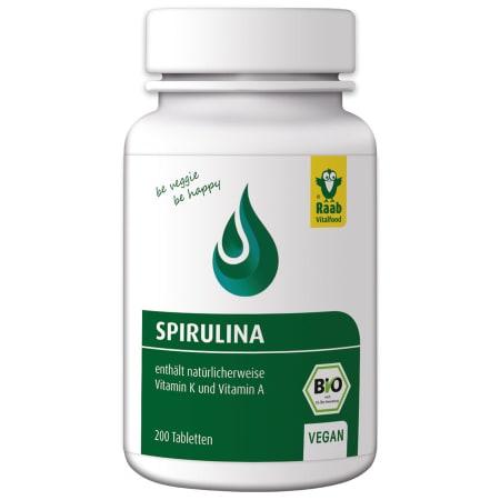 Bio Spirulina Tabs (200 tabletten)