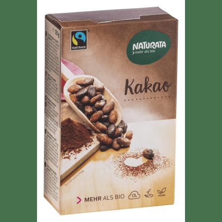 Kakao schwach entölt 20-22% Fett bio (125g)