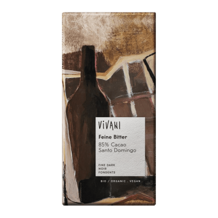 Cacao 85% Feine Bitter Schokolade bio (100g)