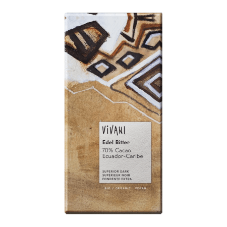 Schokolade Edel Bitter 70% Cacao bio (100g)