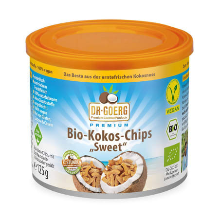 Bio-Coconut Chips (125g)