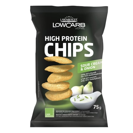 3 x LowCarb.one High Protein Chips Mixed (3x75g)