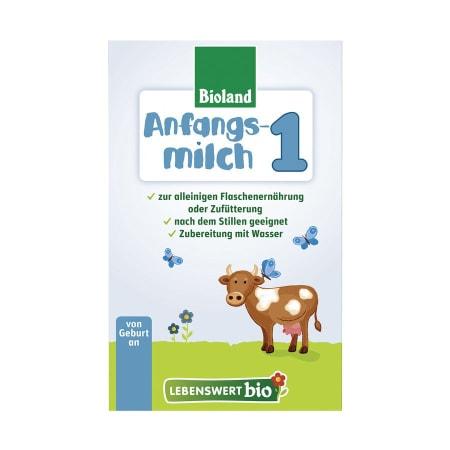 泓乐乐博维有机婴儿奶粉1段(0-6个月)500克  Lebenswert Bio-Anfangsmilch 1, von Geburt an (500g)