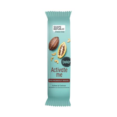 Energy Proteinriegel Kakao & Cashew »Activate Me« (40g)