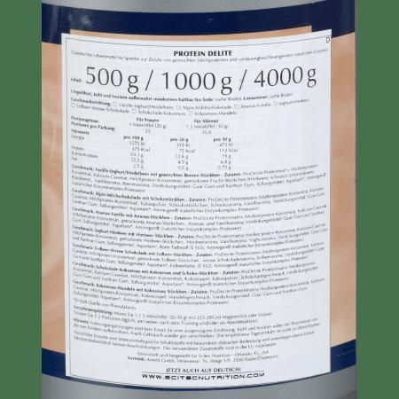Protein Delite Pulver (1000g)