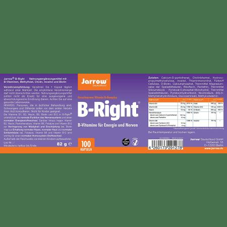 B-Right Vitamin B-Complex (100 capsules)