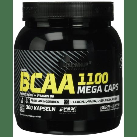 BCAA Mega Caps 1100 (300 Kapseln)