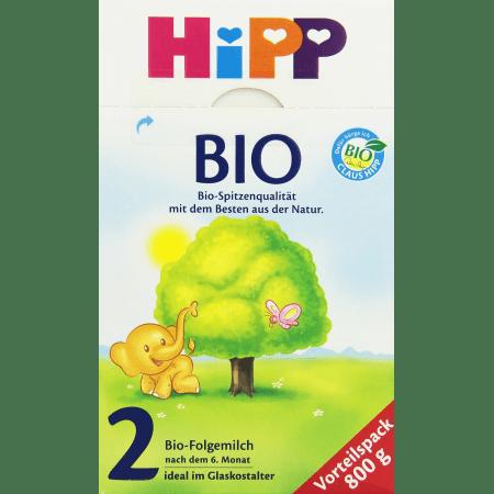 喜宝有机婴儿配方奶粉2段600克 Bio Folgemilch 2 (800g)