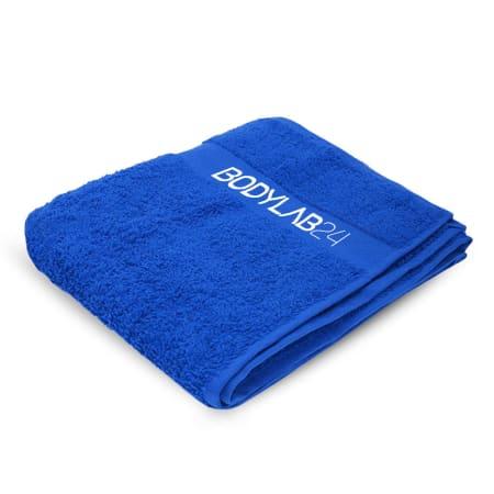 Bodylab24 Towel 100x50cm - royal blue