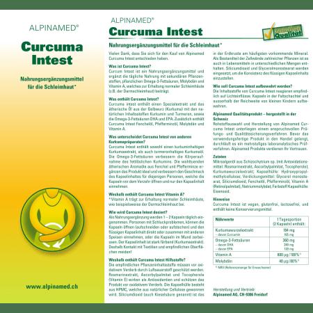 Curcuma Intest (60 Kapseln)