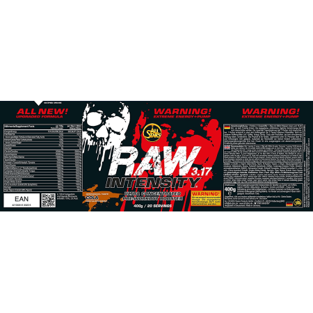 Raw Intensity 3.17 (400g)