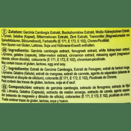 Diet Booster Appetit- und Carbblocker (150 Kapseln)