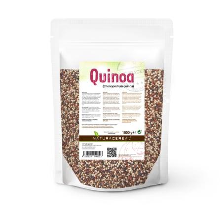 Quinoa bunt - schwarz+weiß+rot (1000g)