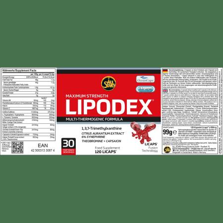 Lipodex (120 Stück)