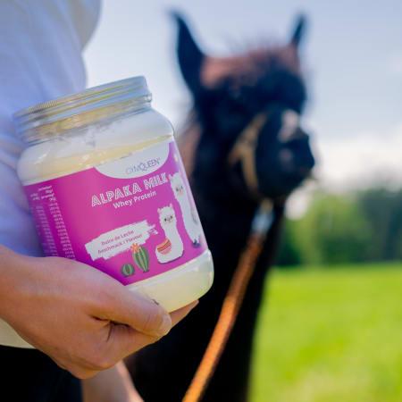 GymQueen Queen Whey - Alpaka Milk (450g)