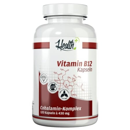 Health+ Vitamin B12 (120 Kapseln)