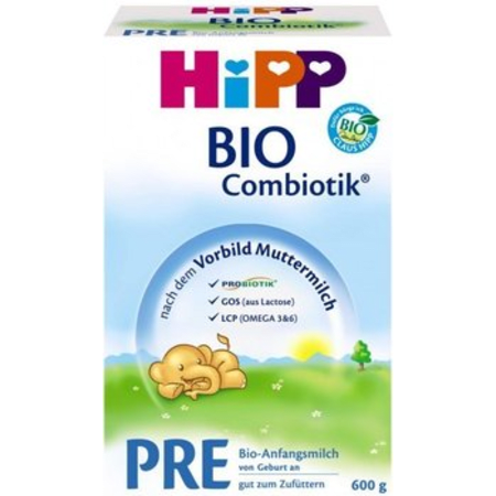喜宝有机益生菌婴儿奶粉 pre 段 600克 BIO Combiotik Folgemilch Pre (600g)