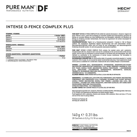 Intense D-Fence Complex Plus (28x5g)